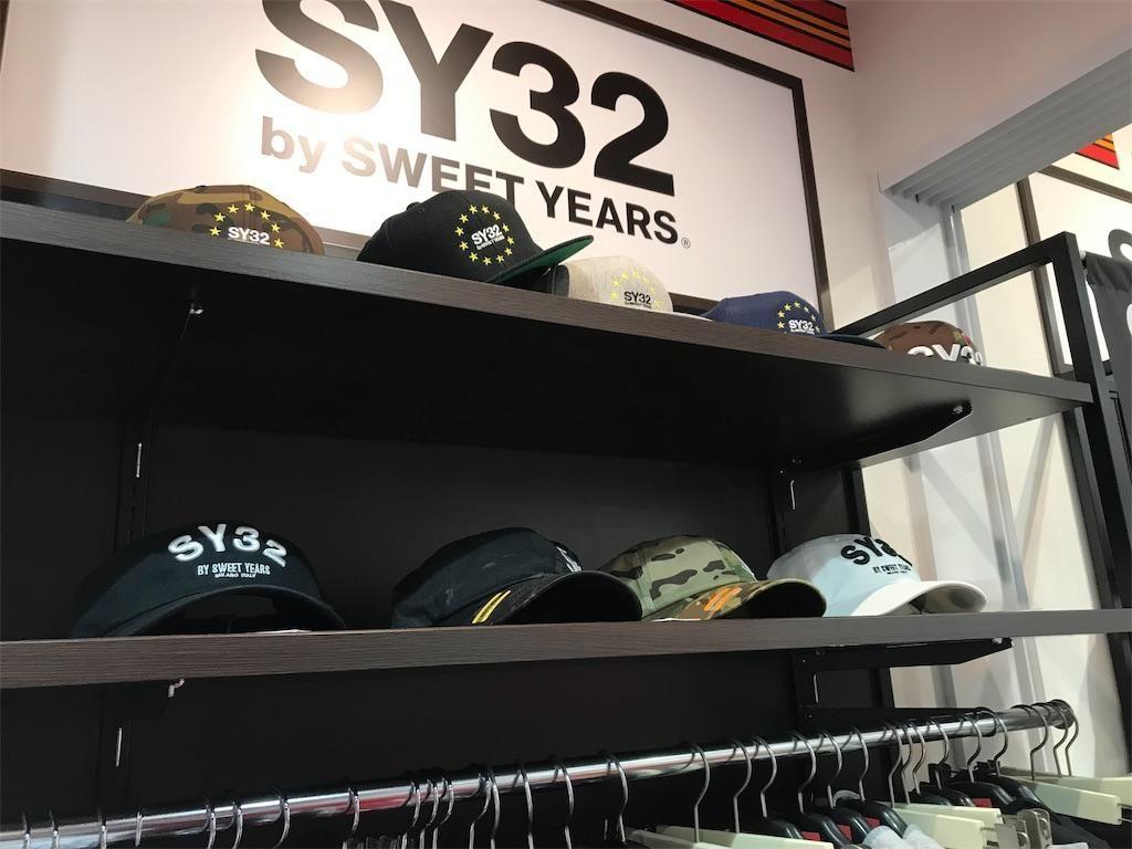 SY32のキャップ