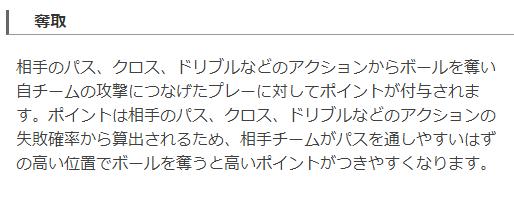 Football lab奪取ポイントの定義(出典:http://www.football-lab.jp/ )