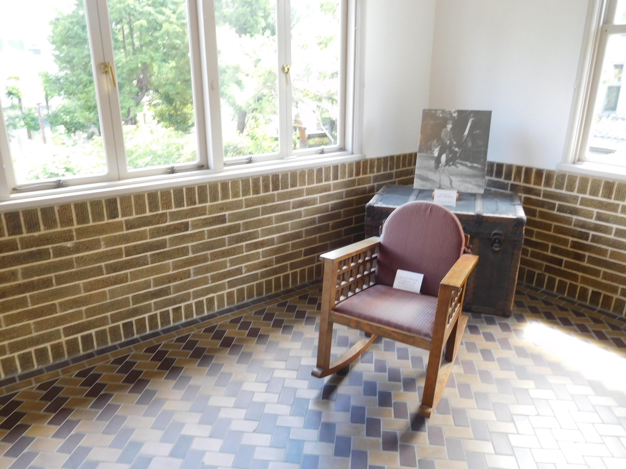 2階 展示室1(旧娯楽室)