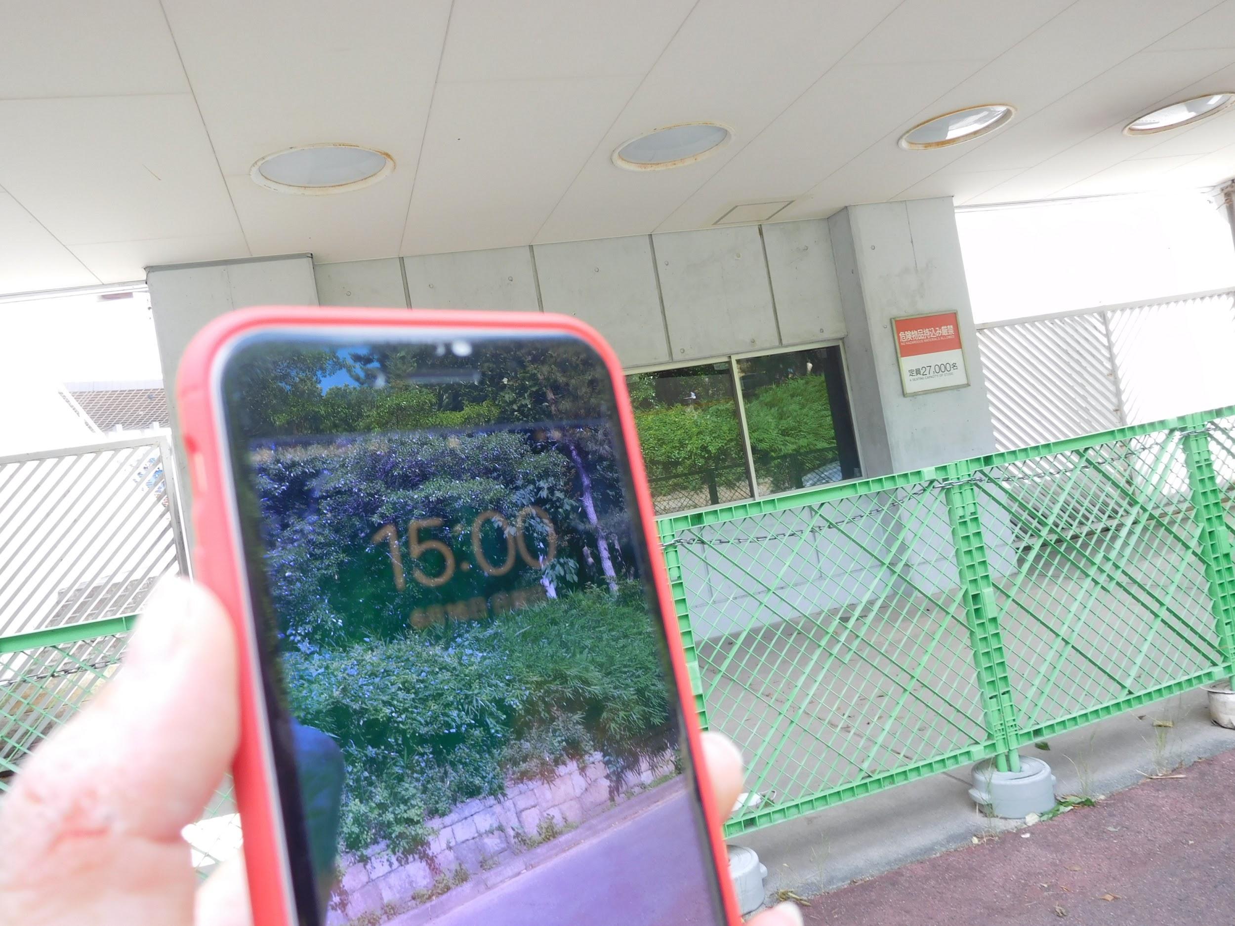 パロマ瑞穂スタジアムビジター入場ゲート