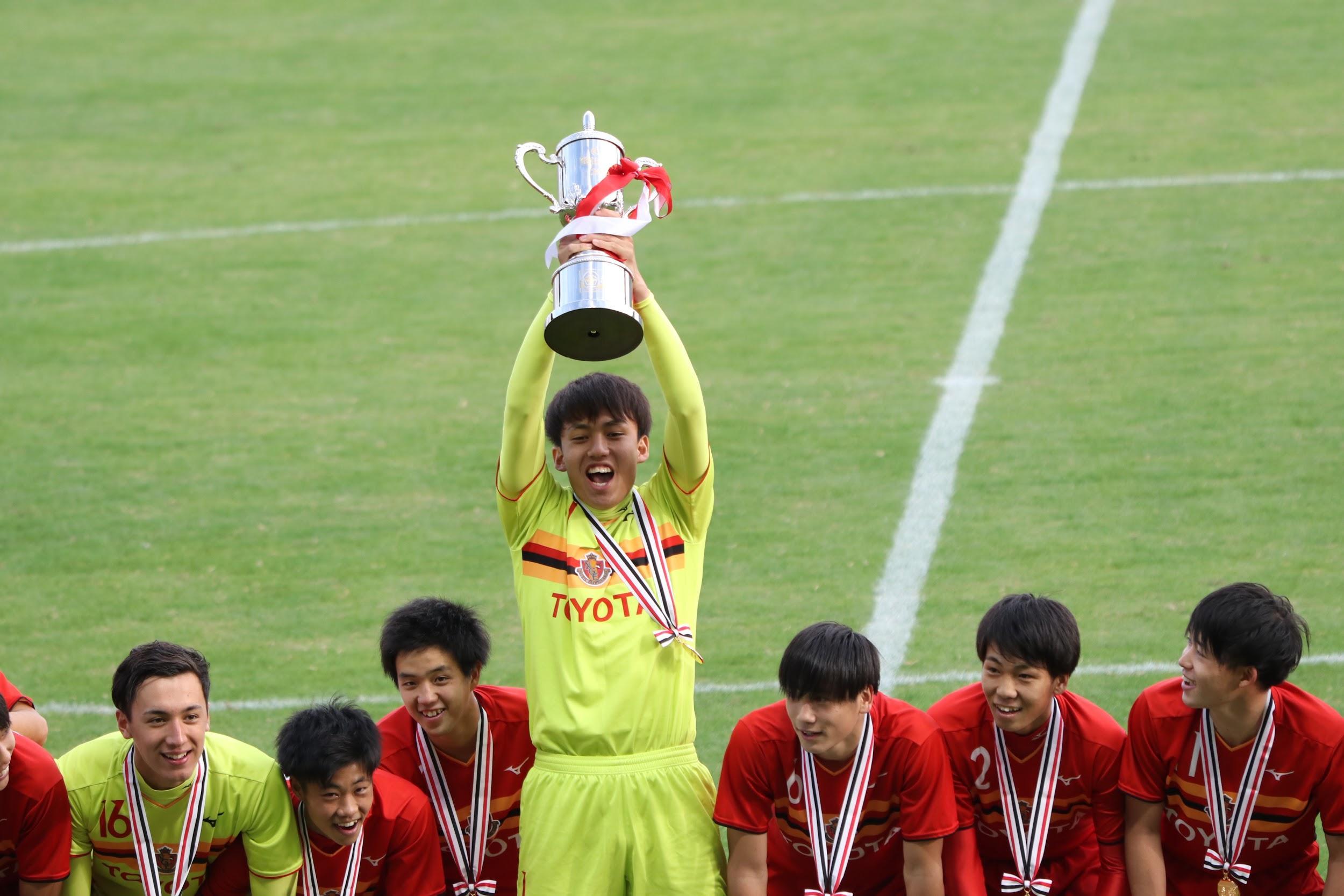 (Jユースカップ 表彰式)