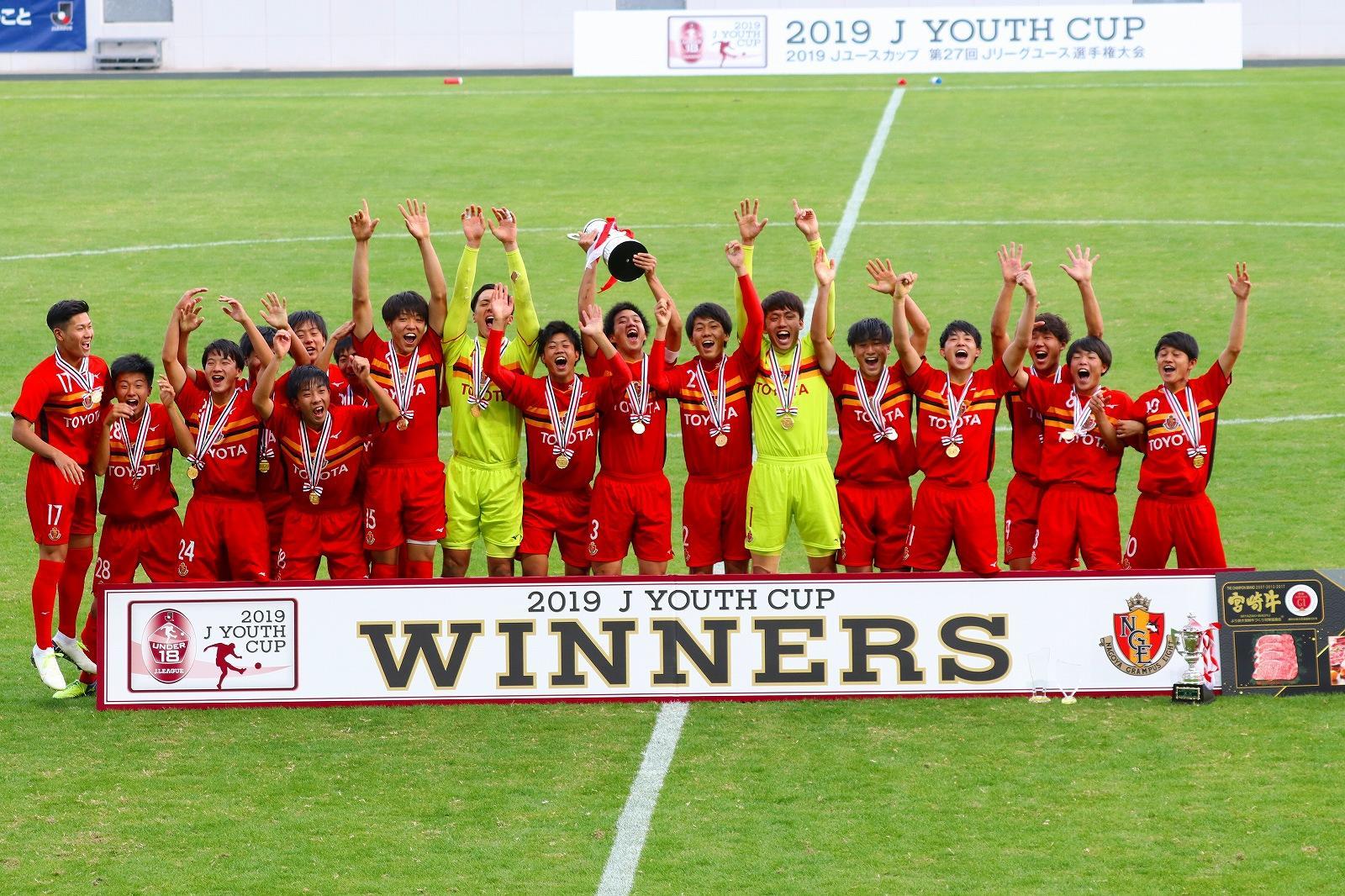 Jユースカップ2019優勝