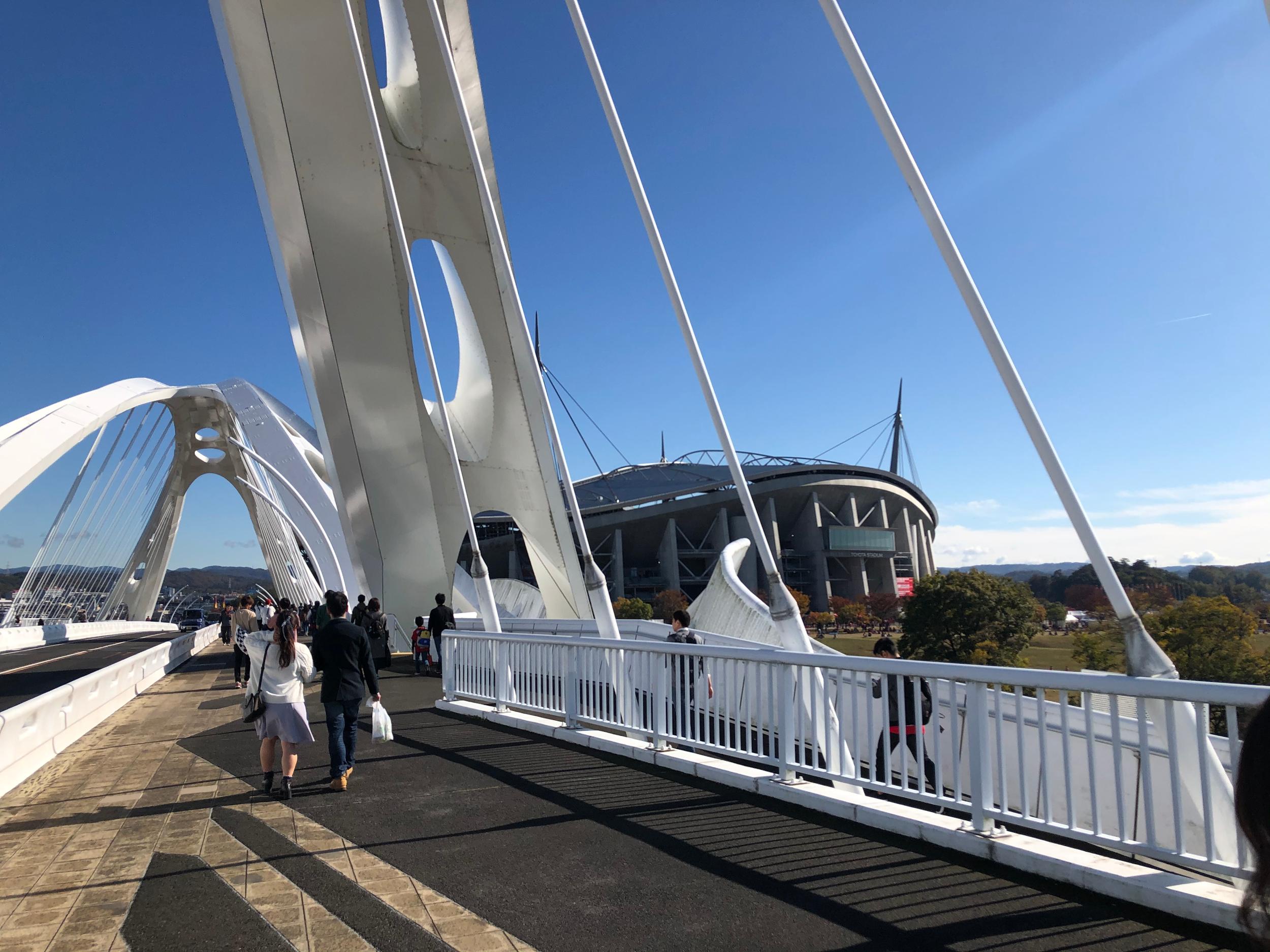 灼熱の豊田大橋